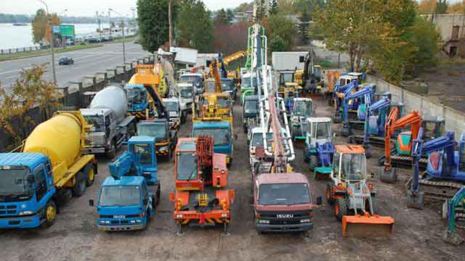Спецтехника европы бу пассажирских и грузовых перевозок